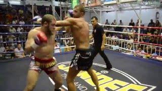 Rafael Fiziev  Phuket Top Team (Kyrgyzstan) vs Damian (France) 16/12/2015 Muay Thai Fight