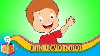 Hello How Do You Do?   Nursery Rhyme   Karaoke