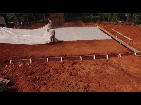 Slab Excavation Garage - Unique Concrete Concepts Acworth Ga