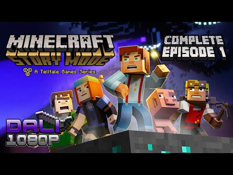 MineCraft: Story Mode Full Episode 1 Complete PC Gameplay 60fps 1080p