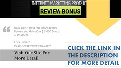 Publish Academy Review - Is  Anik Singal New System Deliver The Claim?