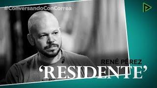 'Conversando con Correa': René Pérez 'Residente'