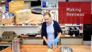 Diy Making Beeswax Polish For Furniture