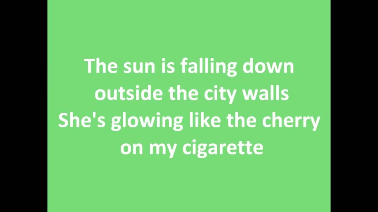 Stoned Girl In My Bed Lyrics