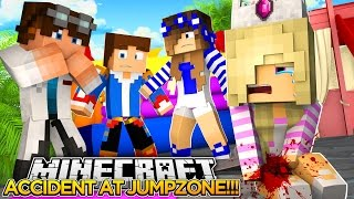 BABY LEAH BREAKS HER LEG (LITTLE CARLY, LITTLE DONNY)!!!- Baby Leah Minecraft Roleplay!.