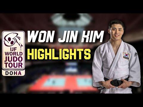 김원진 Kim Won Jin - DOHA MASTERS 2021 Judo Highlights
