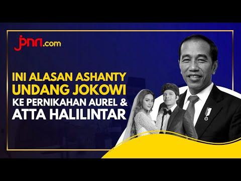Terungkap! Alasan Ashanty Undang Jokowi ke Pernikahan Aurel & Atta Halilintar