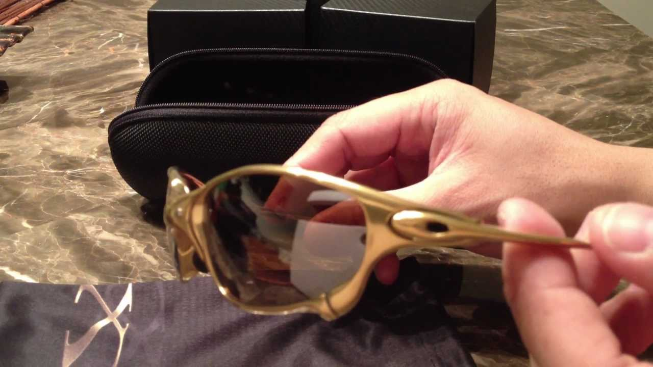 9f39b93c2d Oakley 24K Gold Juliet Limited Edition 750 pcs (X Squared) - YouTube