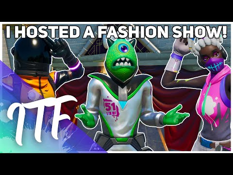 I Hosted A Fortnite Fashion Show! (Fortnite Creative)