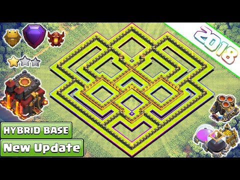 BEST TH10 Base 2018 | New Town Hall 10 Trophy/Farming Base | Anti Everything | Clash of Clans 2018
