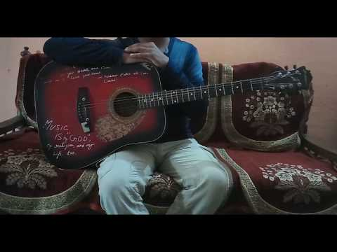 """Chalte Chalte""Song of ""Mitron""/Easy Guitar Chords/Lesson/Tutorial/Guitar Cover/Atif Aslam"