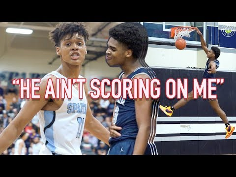 """He Said, """"HE AIN'T SCORING ON ME!!"""" Josh Christopher RESPONDS W/ 40+ Point Game"""