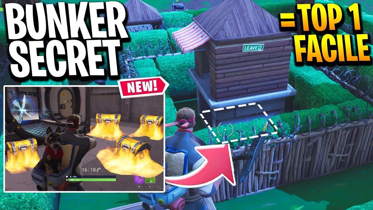 le nouveau bunker secret est la meilleure zone pour faire top 1 saison 6 sur fortnite skyyart - miniature fortnite top 1 saison 7