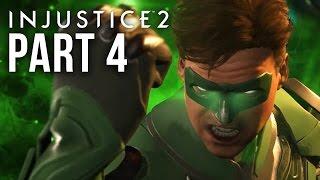 INJUSTICE 2 STORY MODE Gameplay Walkthrough Part 4 - Chapter 5 - GREEN LANTERN