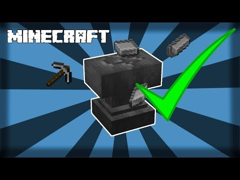 ✔-minecraft-|-how-to-make-an-anvil---1.14.4
