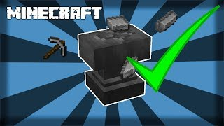 ✔ MINECRAFT   How to Make an Anvil - 1.14.4