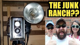 THRIFT WITH ME @ THE JUNK RANCH ARKANSAS? [FAMILY VLOG] 2018