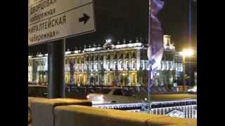 Вечерний Петербург Нева Дворцовая площадь Невский