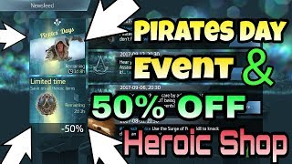 Assassin Creed Identity Pirates Day Event