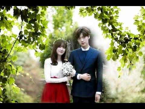170521 First Wedding Anniversary AhnGoo Couple
