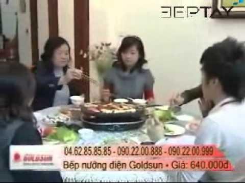 Hướng dẫn sử dụng bếp nướng Goldsun