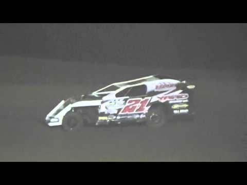 Ark La Tex Speedway Modified A feature part 1 9/26/15