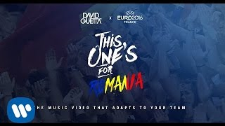 David Guetta ft. Zara Larsson - This One's For You Romania (UEFA EURO 2016™ Official Song)