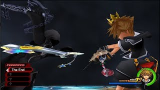 Kingdom Hearts II Final Mix (PS4) - Data Roxas No Damage (Level 1 CM w/Deadly Restrictions)