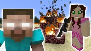 Minecraft: HEROBRINE'S METEOR ATTACK MISSION - The Crafting Dead [30]