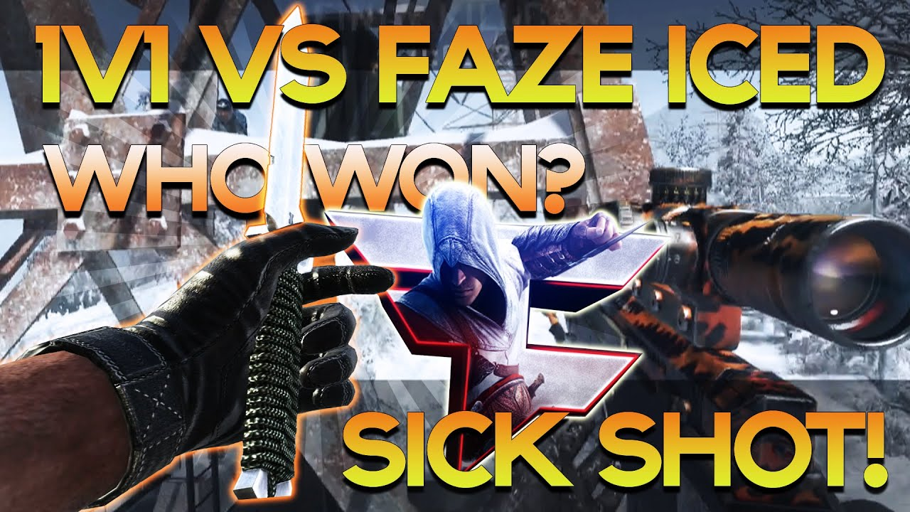 1v1 Knife Only Trickshotting VS. FaZe