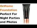 Oriflame veryme peach me foundation review || Perfect for Night parties and photographs||👌👌😍😍😃
