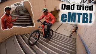 MTB with Dad// This eMTB session was amazing!