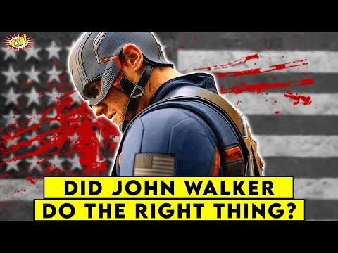 John Walker: RIGHT OR WRONG?    ComicVerse