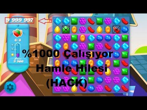 Candy Crush Soda Saga Sınırsız Hamle Hilesi(Unlimited Move Hack)