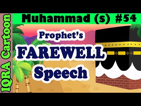 Farewell Speech: Prophet Stories Muhammad (s) Ep 54 | Islamic Cartoon Video | Quran Stories