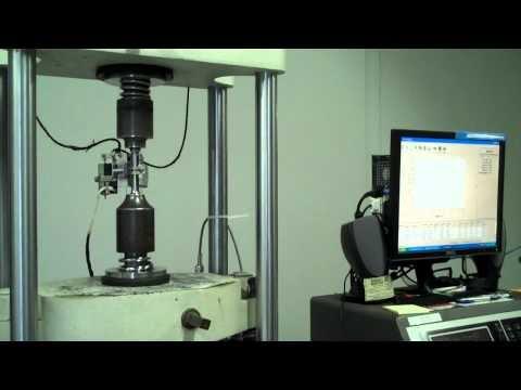 Tensile Testing a Stainless Steel Tensile Specimen