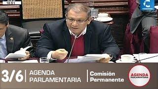 Sesión Comisión Permanente 3/6 (09/07/19)
