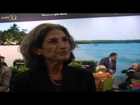 Mary Phillips, General Manager, Jamaica Inn @ ITB Berlin 2012