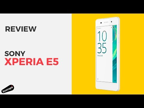 Sony Xperia E5 conta com design interessante e bom desempenho [Review]