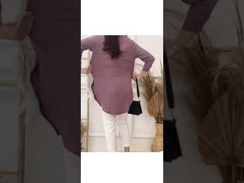 Kemeja Wanita Oversize Pastel Color Airflow