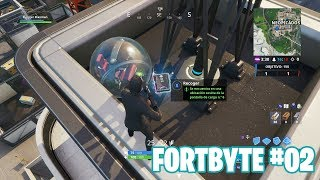 Fortnite Battle Royale ? Fortbyte Challenges How to get the Fortbyte #02