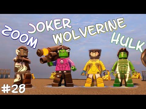 ZOOM!/JOKER!/WOLVERINE!/HULK! - LEGO Marvel's Avengers Free Roam - Part 28(Türkçe Gameplay) HD