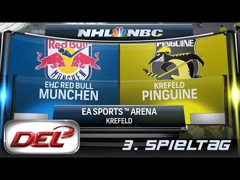 Deutsche Eishockey Liga [DEL] #003 - Krefeld Pinguine - EHC München ★ Let's Commentary NHL 15