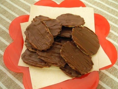 自分で作る!「チョコポテチ」 「Chocolate potato chips」