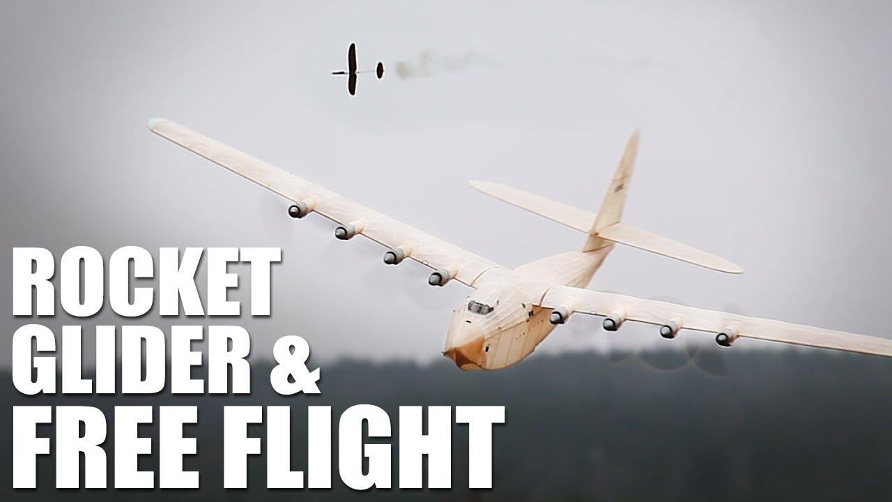 rocket glider free flight airplanes flite test youtube