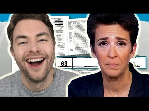 Thumbnail: Rachel Maddow's Epic Trump Tax FAIL!