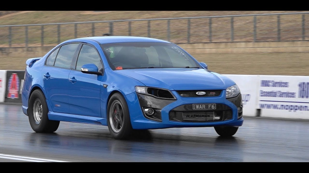 WAR F6 AUSTRALIA'S QUICKEST FG F6 EMPIRE MECHANICAL & RACING 8.75 @ 159 MPH