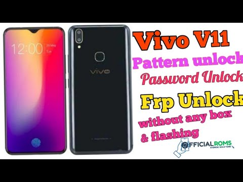 Vivo Y93 Pattern Lock & Frp Lock Remove Without Box - Official Roms