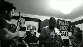 Jam en pizza jazz café 16 de junio de 2018