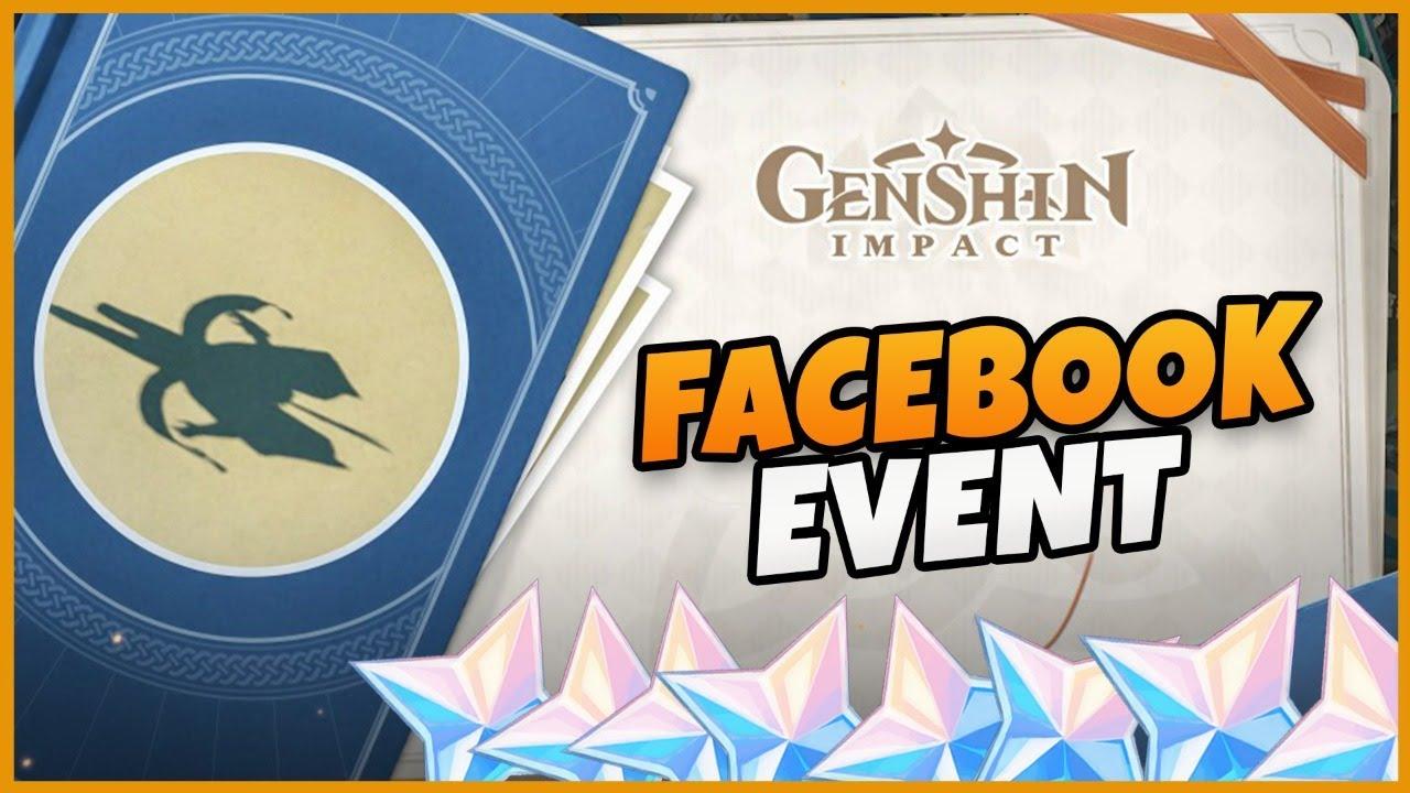 Genshin Facebook Event : Guess Who i Am